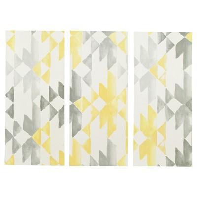 Sierra Gel Coat Printed Canvas 3 Piece Set - Yellow