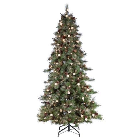 about this item - White Prelit Christmas Tree