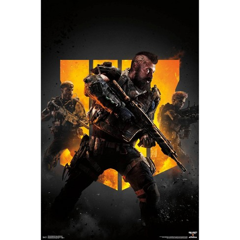 """34"""" x 23"""" Call of Duty: Black Ops 4 Group Key Art Unframed Wall Poster Print - Trends International - image 1 of 2"""