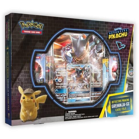 Pokemon Trading Card Game Detective Pikachu Greninja Gx Portfolio And Pin Box Target