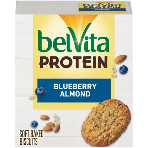 belVita Protein Blueberry Almond Breakfast Bars - 5ct - image 1 of 4