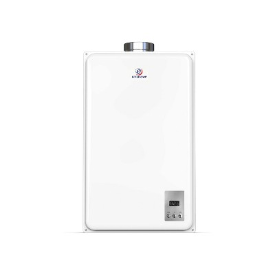 Eccotemp 45HI-LP 6.8 Gallons Per Minute Flow Capacity 150,000 BTU Liquid Propane Point of Use Wall Mounted Tankless Water Heater, White