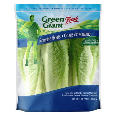 Green Giant Hearts of Romaine Lettuce - 22oz - image 1 of 1