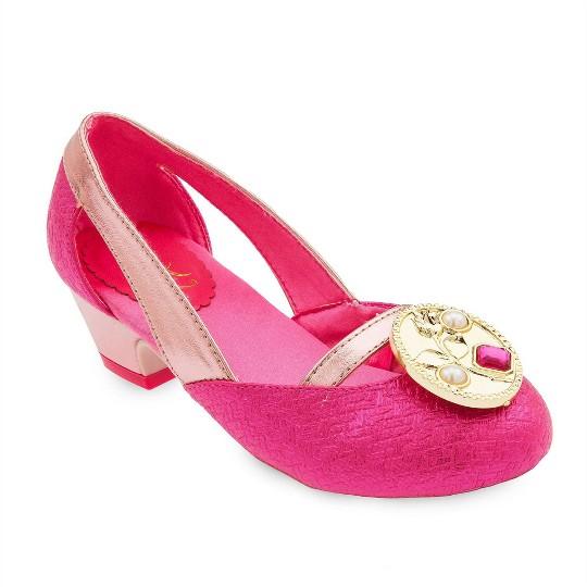Disney Princess Aurora Kids' Dress-Up Shoes - Size 2-3- Disney store, Pink image number null