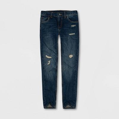 Levi's® Boys' 502 Regular Taper Jeans - Valencia Medium Wash 5