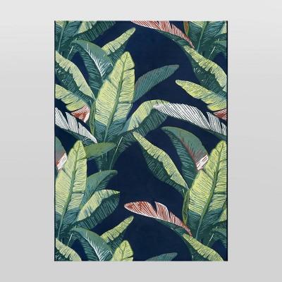 7' x 10' Outdoor Rug Banana Leaf - Threshold™