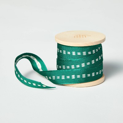 Simple Stitch Fabric Gift Ribbon - Hearth & Hand™ with Magnolia
