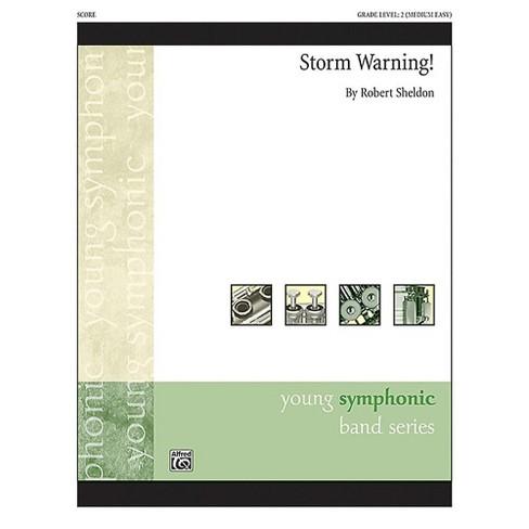 Alfred Storm Warning! Concert Band Grade 2 Set - image 1 of 1