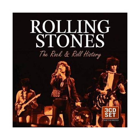 Rolling Stones - Rock & Roll History (CD) - image 1 of 1
