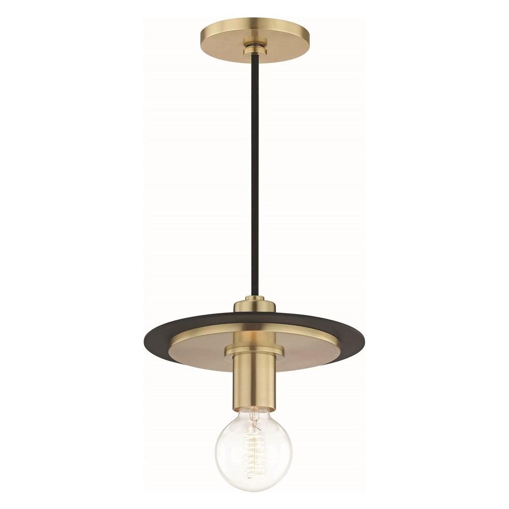 WINSOON 1PC Modern Style Metal Ceiling Lamp Wall Vintage Loft Pendant Light Retro Industrial Black