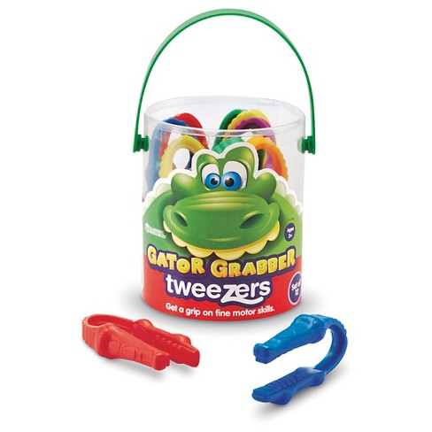 Learning Resources Gator Grabber Tweezers™ Set Of 12 - image 1 of 3