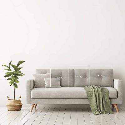 Schatzi Brown Aviana Starburst White Throw Pillow Gray - Deny Designs : Target