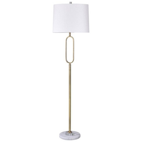 Rosa Gold Floor Lamp Silver (Includes Light Bulb) - StyleCraft - image 1 of 1