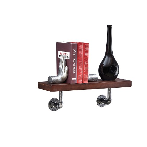 Industrial Wall Shelf - Brown - image 1 of 7