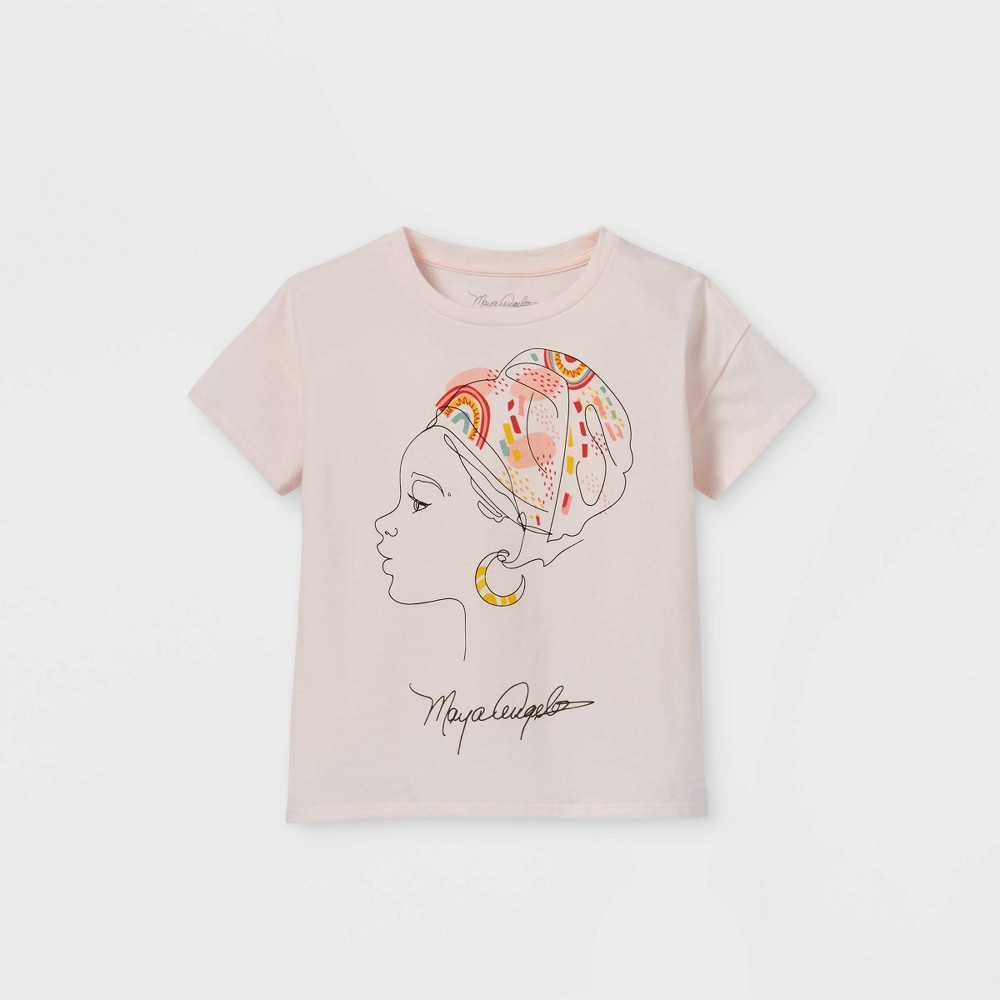 Girls 39 Maya Short Sleeve T Shirt Off White M