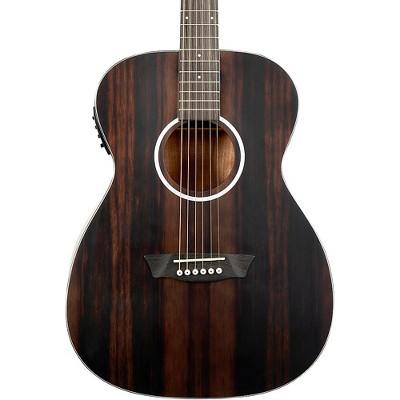 Washburn Deep Forest Ebony FE Acoustic-Electric Guitar Natural Matte