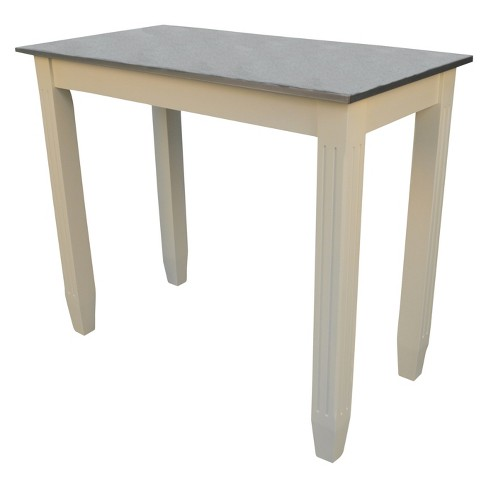 Oda Galvanized Top Bar Table - Carolina Chair and Table - image 1 of 5