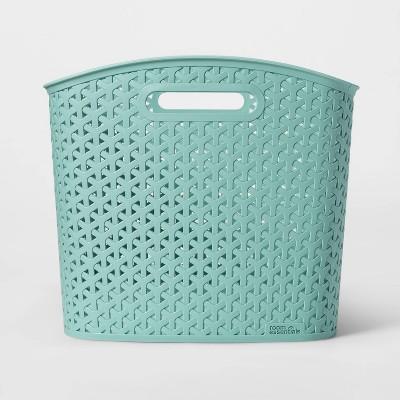 Y-Weave Curved Bin Jade Green XL - Room Essentials™