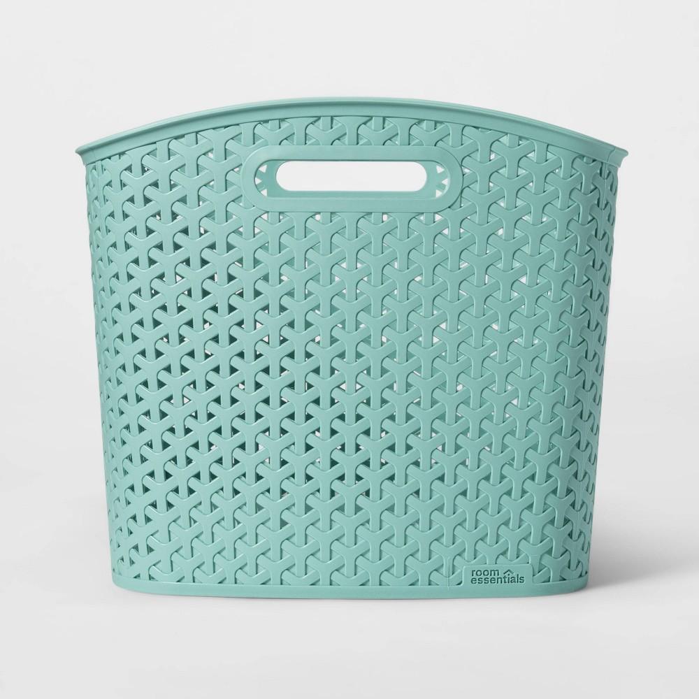 Y-Weave Curved Bin Jade Green XL - Room Essentials