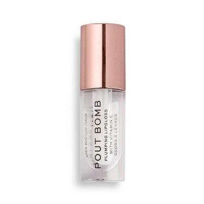Makeup Revolution Pout Bomb Plumping Gloss - 0.17oz