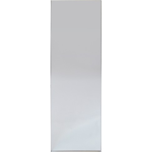 "60""x20"" Brushed Nickel Modern Leaner Decorative Wall ..."