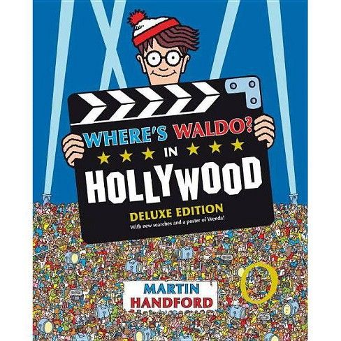 Where's Waldo? in Hollywood - by  Martin Handford (Hardcover) - image 1 of 2