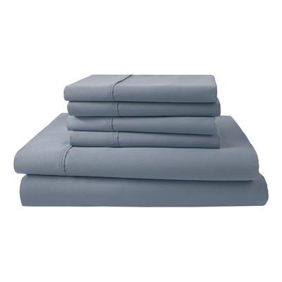 Park Ridge 1000 Thread Count Sheet Set (Queen)Blue Mist - Elite Home Products