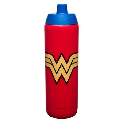 Zak Designs Wonder Woman 24.5oz Squeeze Water Bottle