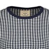 Hope & Henry Womens' 3/4 Sleeve Houndstooth Sweater Dress - image 3 of 4