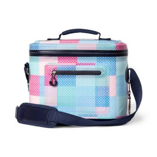 Patchwork Whale 12 Can Cooler - Pink/Blue - vineyard vines® for Target