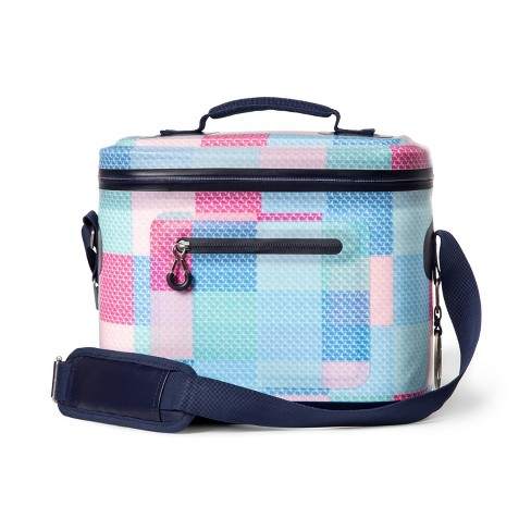 Patchwork Whale 12 Can Cooler - Pink/Blue - vineyard vines® for Target - image 1 of 3