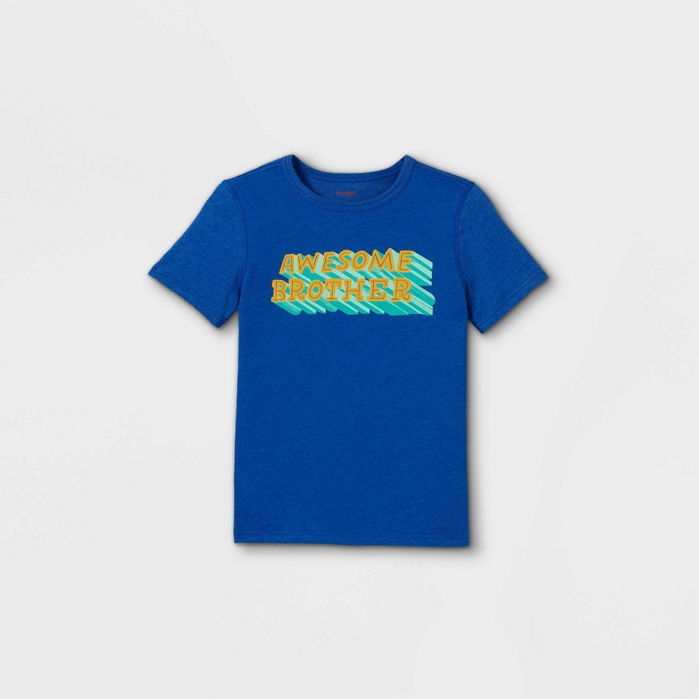 Boys 39 Adaptive 39 Awesome 39 Graphic T Shirt Cat 38 Jack 8482 Blue S