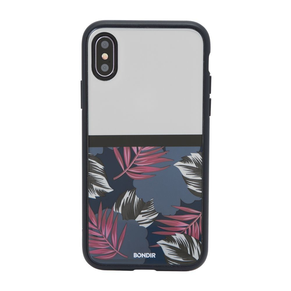 Bondir Apple iPhone X Case Clear Coat - Tropic