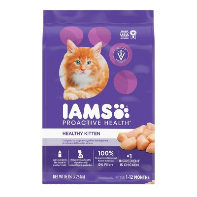Iams Proactive Health Healthy Kitten Dry Cat Food - 16lbs