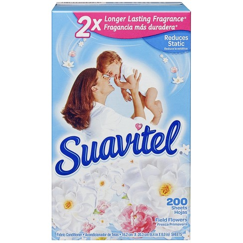Suavitel Field Flowers Dryer Sheets - 200ct - image 1 of 4