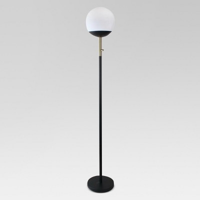 Globe Head Floor LED Lamp Black (Includes Energy Efficient Light Bulb)- Project 62™