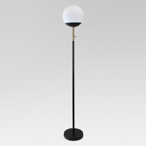 Globe Head Floor LED Lamp Black (Includes Energy Efficient Light Bulb) - Project 62™ - image 1 of 1