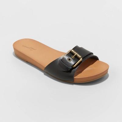 Women's Phoebe Buckle Slide Sandals - Universal Thread™