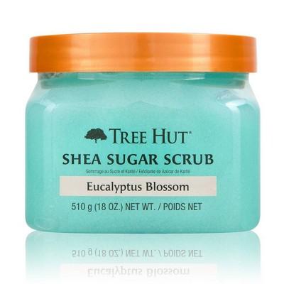 Tree Hut Eucalyptus Blossom Shea Sugar Body Scrub - 18oz