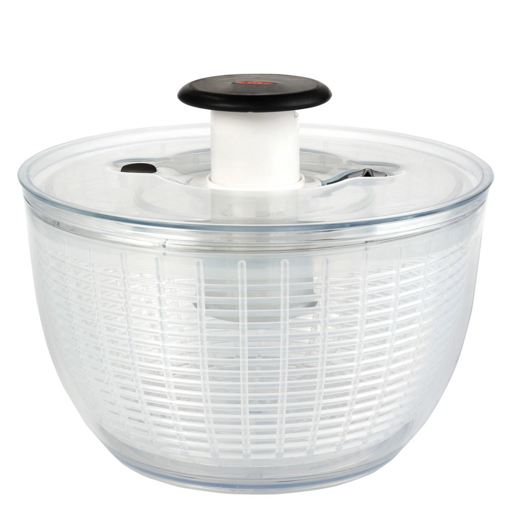 Image of OXO Salad Spinner, Clear, salad spinners