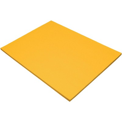 Tru-Ray Sulphite Construction Paper, 18 x 24 Inches, Gold, 50 Sheets