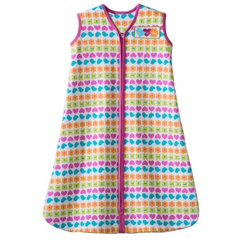 Halo Sleepsack Swaddle Pink Striped Icons L
