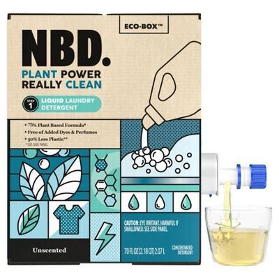 NBD Unscented Liquid Laundry Detergent - 70 fl oz