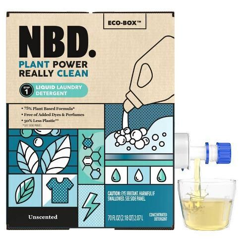 NBD Unscented Liquid Laundry Detergent - 70 fl oz - image 1 of 4