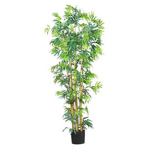 Nearly Natural 6' Bambusa Bamboo Silk Tree - image 1 of 1