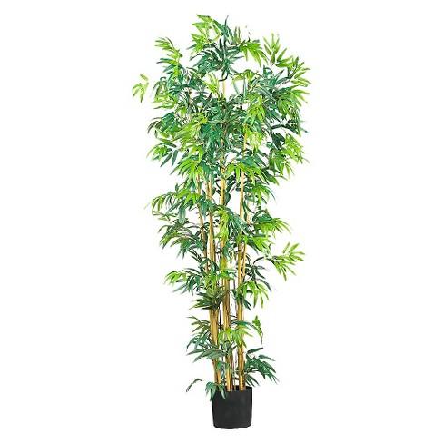 Nearly Natural 6' Bambusa Bamboo Silk Tree - image 1 of 1