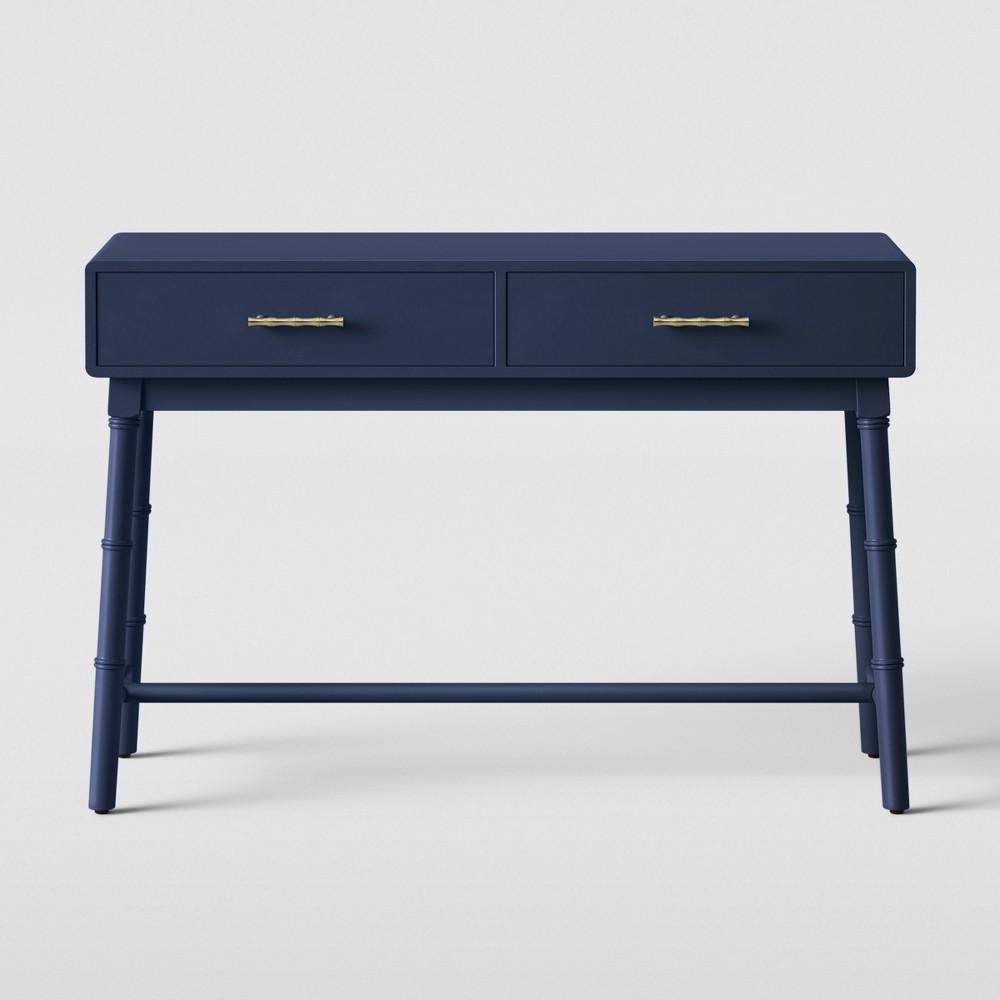 Oslari Painted Console Table Blue - Opalhouse