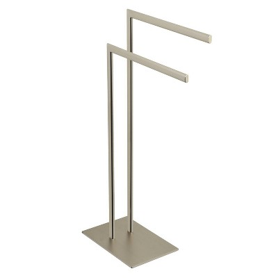 Edenscape Pedestal Dual Towel Rack - Kingston Brass