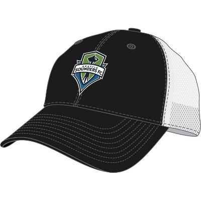 MLS Seattle Sounders Men's Mesh Trucker Snapback Hat