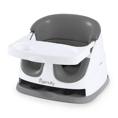 Ingenuity Baby Base 2-in-1 Booster Feeding Seat - Slate